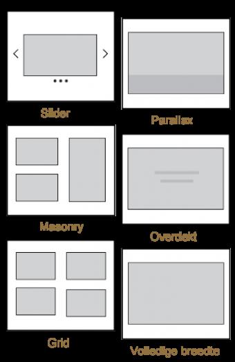 webisign layout mogelijkheden