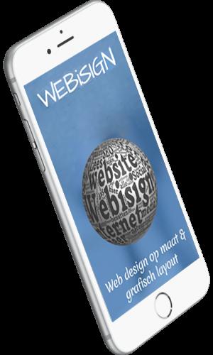 webisign smartphone mogelijkheden