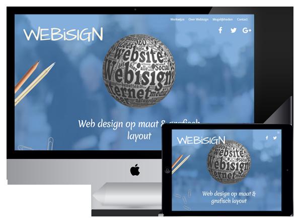 webisign responsive mogelijkheden
